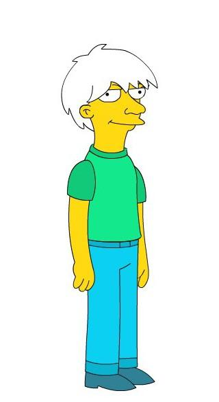 Loral Johnson as on The Simpsons
